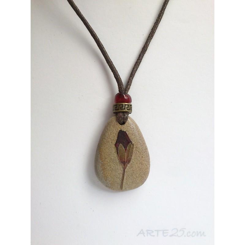 Collar Capullo Granate. Loading zoom b159fce5111