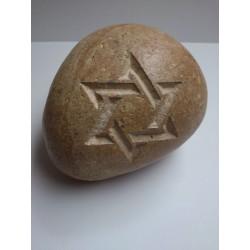 Piedra Decorativa con Estrella de David 4f90329bab8